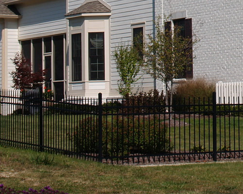 Picture aluminum Picture residential Fence Installation Company Contractor Sherrills Ford NC Lake Norman