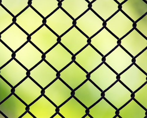 Picture chain link security Fence Installation Company Contractor Sherrills Ford NC Lake Norman